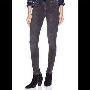 Size 31 Faded Black Levi 711 Skinny Jeans